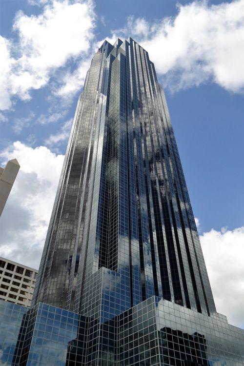 skyscraper houston texas building downtown