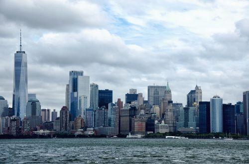skyscraper skyline city