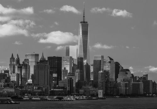skyscraper city skyline