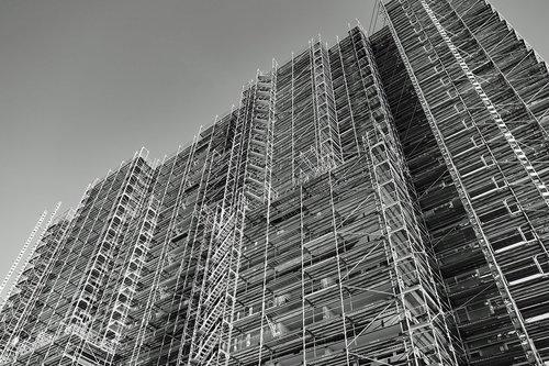 skyscraper  scaffold  scaffolding