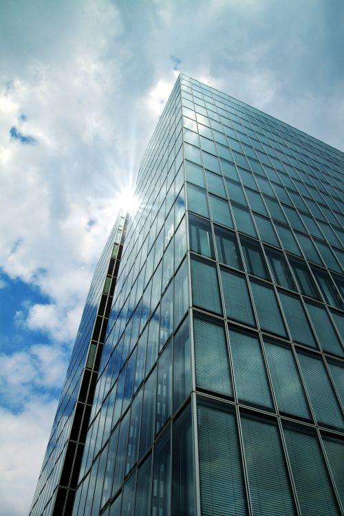 skyscraper modern building modern high rise building
