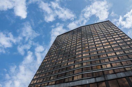 skyscraper office building glass