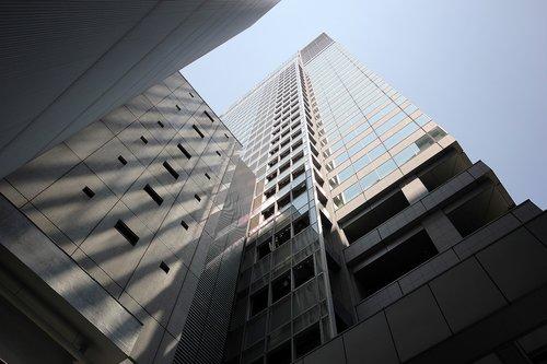 skyscraper  city  metropolis