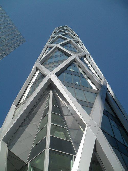 skyscraper  paris la défense  tower