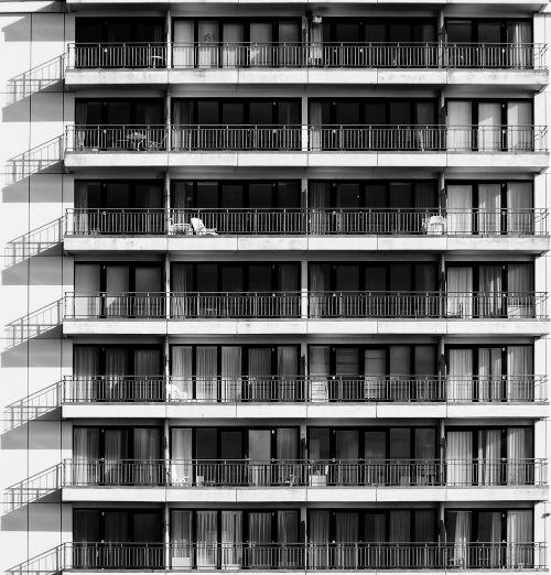 skyscraper building homes