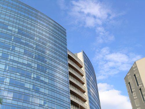 skyscraper offices architecture