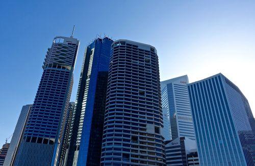 skyscrapers buildings city