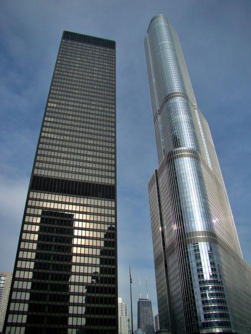 skyscrapers chicago usa