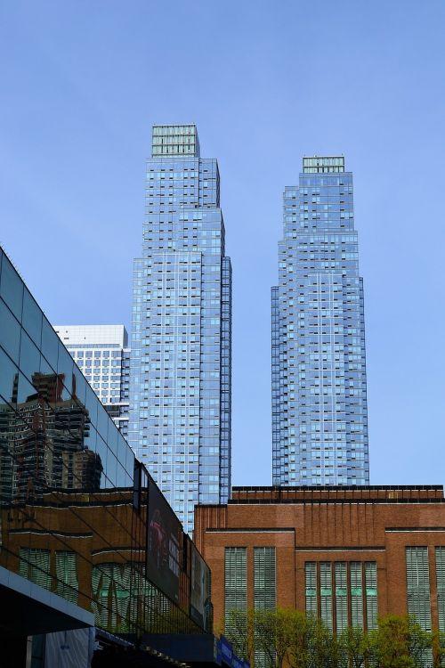 skyscrapers new york city manhattan