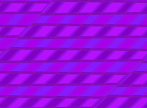 Slanted Pattern In Bright Pink