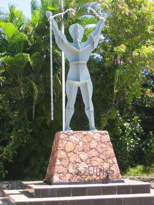 slavery memorial history