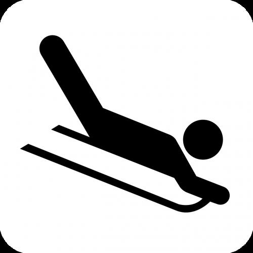 sled winter sports sports
