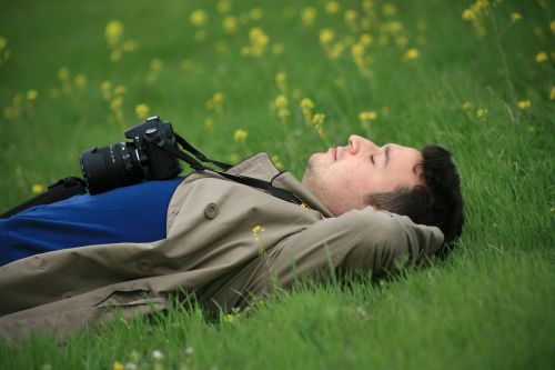 sleep,grass,photographer,nature,green,peace