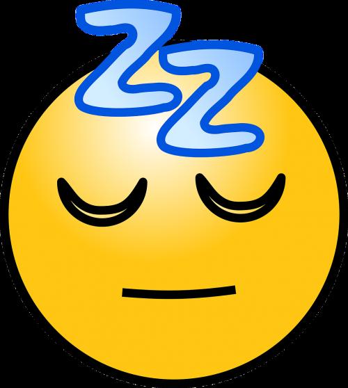 sleep sleeping emoticons