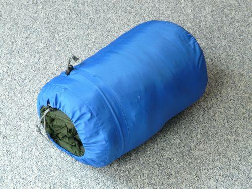 sleeping bag sleep rest