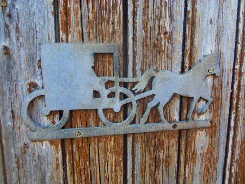 sleigh iron metal