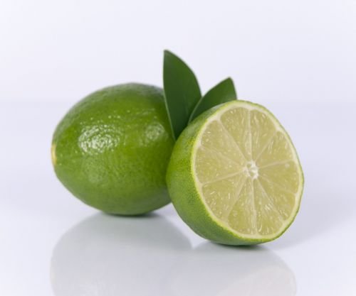 sliced lime fruit lime