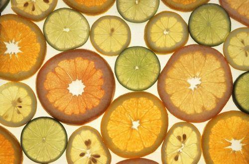 slices citrus fruits