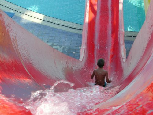 slide slip child slips