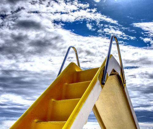 slide water slide pedal boat