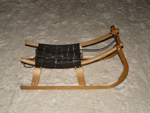 slide sleigh ride winter