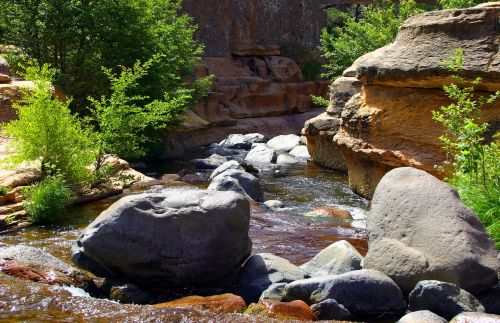 slide rock state park arizona slide