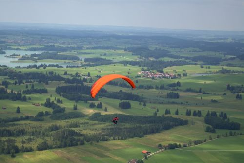 sliding screen crack paragliding air sports