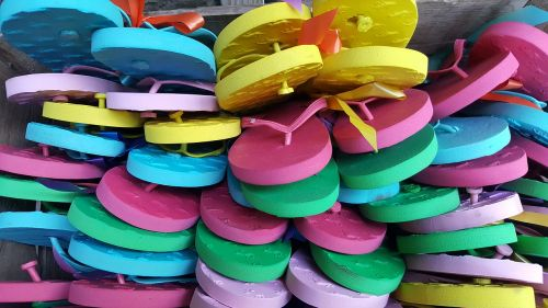 slippers colors summer