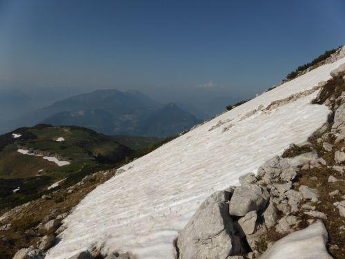 slopes snow sky