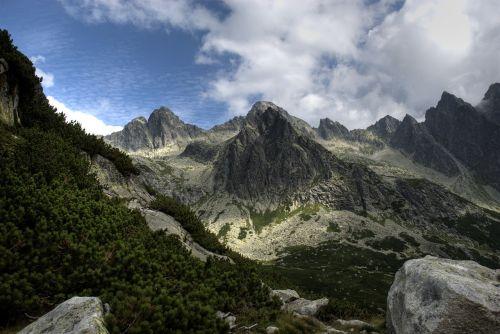 slovakia tatry landscape
