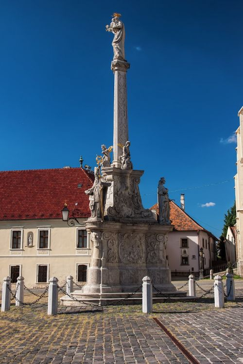 slovakia trnava the square of st