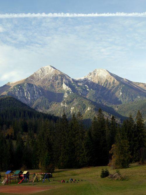 slovakia tatry rocks