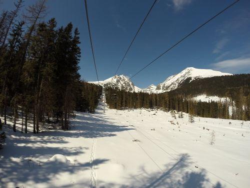 slovakia vysoké tatry snow