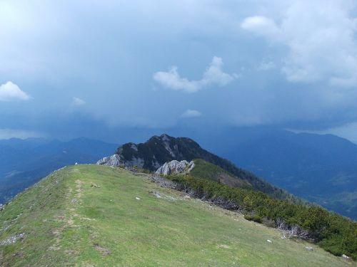 slovenia olseva mountaintop