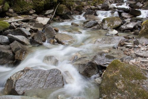 slow shutter stream alaskan stream stream