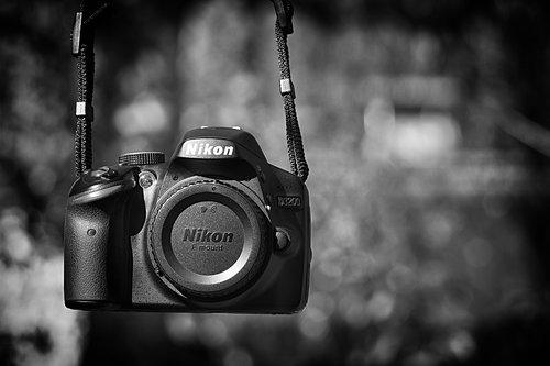 slr camera  nikon d3200  photograph