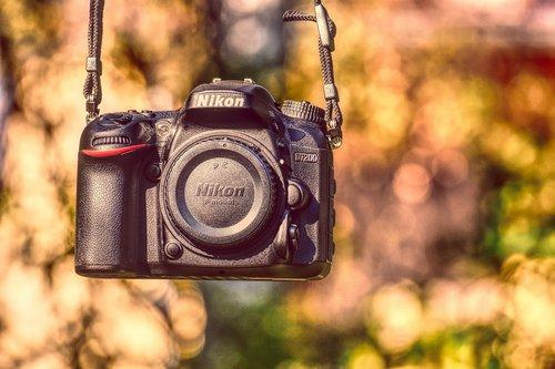 slr camera  nikon d7200  photograph