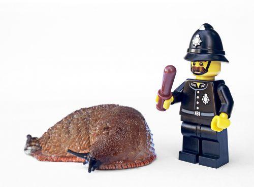 slug policeman lego