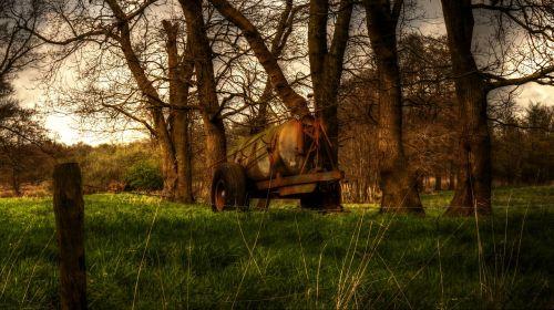 slurry liquid manure countryside