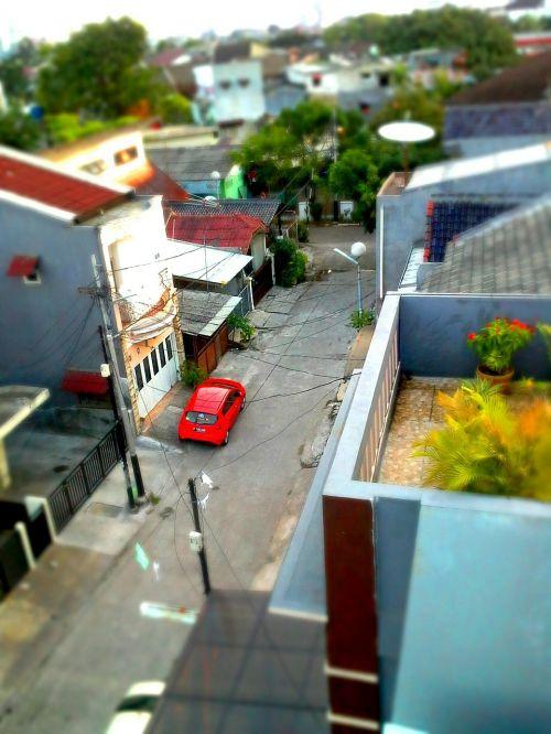 small car town urban
