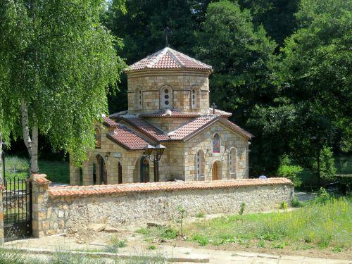 small chapel landscape albania
