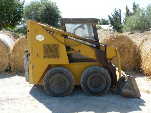 small machine construction machine engine