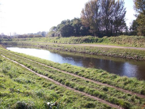 Small Stretch Of The River Mersey