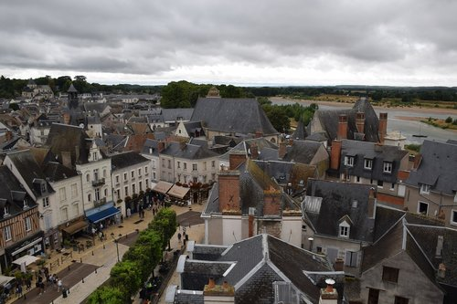 small town  frankreich  french