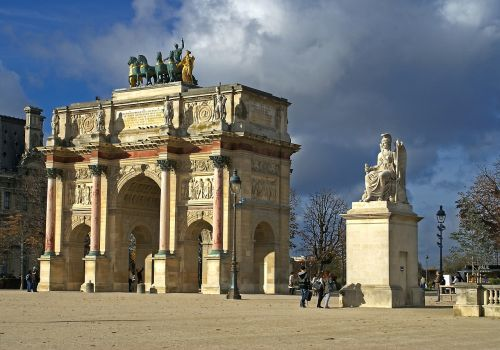 small triumphal arch napoleon history