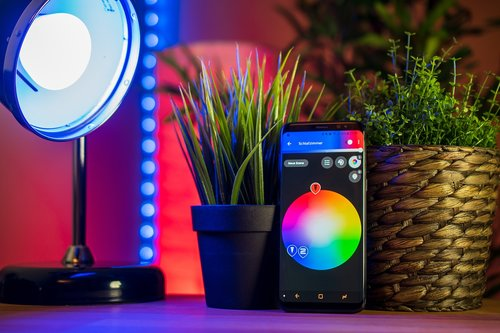 smart home  mobile phone  smartphone