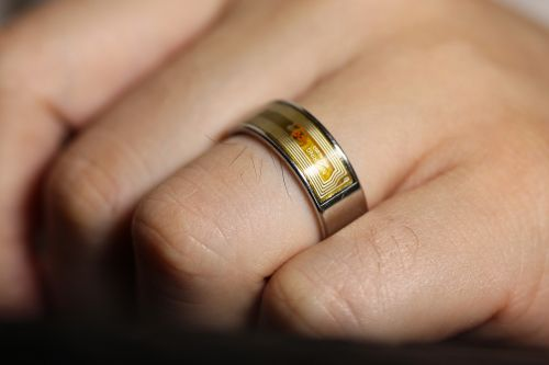 smart ring ring wedding ring