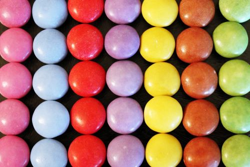 smarties colorful color