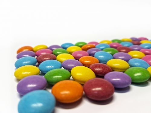 smarties the sweetness of color