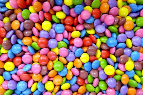 smarties confectionery lenses
